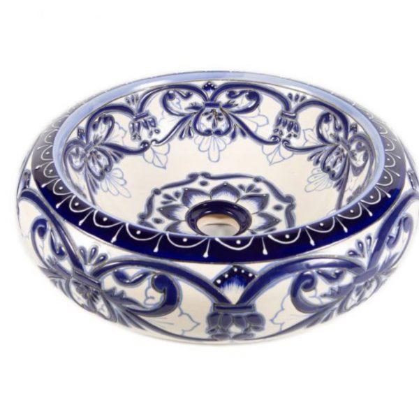 umywalki ceramiczne malowane